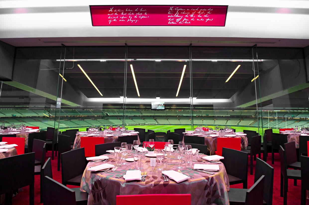 Afl dining room with multiple bars that provides the ideal location for your guest to enjoy epicures award winning catering options larger events also have the dzzzfo