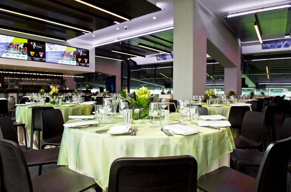premiership club dining room