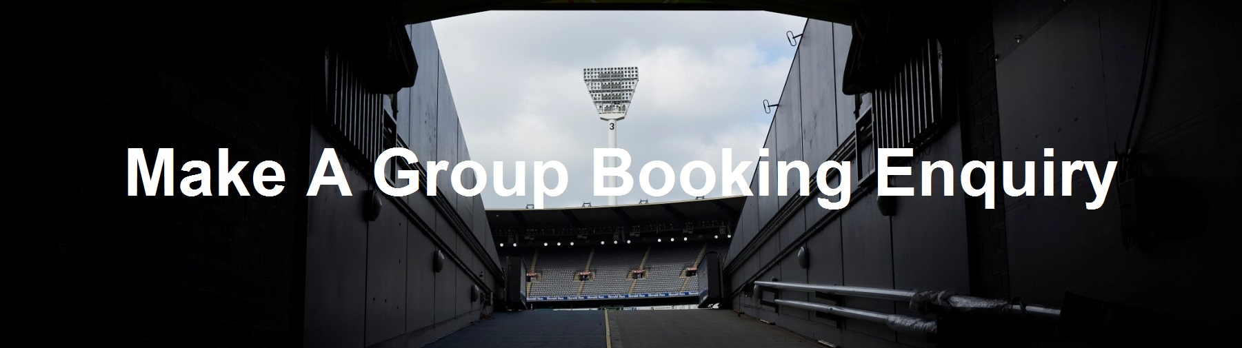 Request an MCG Tour group booking.